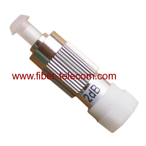 FC Male to Female MM Fiber Optical Attenuator