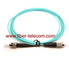 ST to ST OM3 Simplex Optical Patch Cable