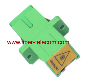 SC Shutter Simplex Fiber Optic Adaptor