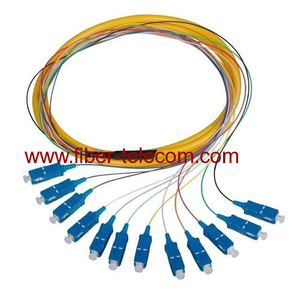 SC Single Mode Break-out Fiber Optic Pigtail
