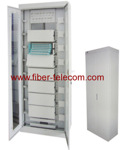 576-core fiber optic distribution frame