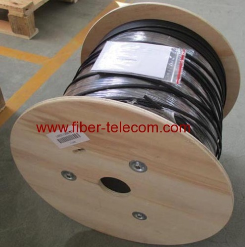 GJYXFCH-4B6 FTTH Drop Cable 4 Fiber Fig.8 with 0.5mm FRP Strength Member