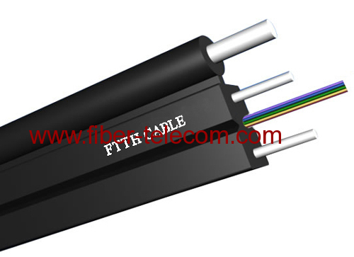 GJYXFCH-8B6 FTTH Drop Cable 8 Fiber Fig.8 with 0.5mm FRP Strength Member