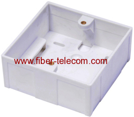 Wall mounting Box for Faceplate 86*86mm