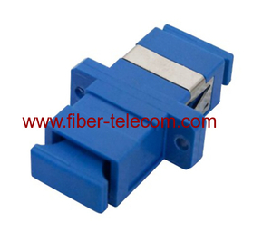 SC simplex fiber optic adaptor