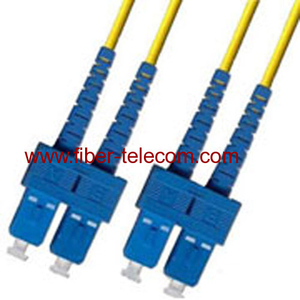 SC/PC-SC/PC Single Mode Duplex Fiber Patch Cord