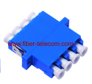 LC single mode quad fiber optic adapor