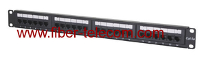 LP546-UTP CAT.5e UTP Patch Panel 24 ports 1U