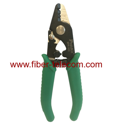 Three section type multifunctional fiber cable stripper