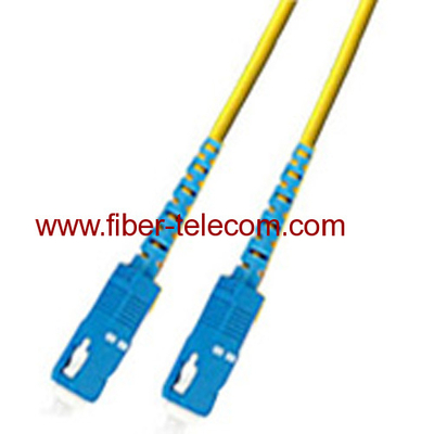 SC-SC Single mode Simplex Fiber Optic Patch Cord