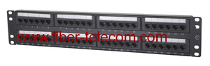 CAT.5e UTP Patch Panel 2U 48 ports