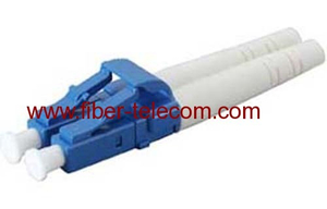 LC single mode duplex fiber optic connector