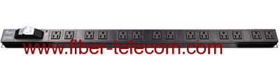 "19"" USA Type PDU Socket 14 Ways"