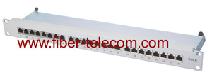 CAT.6 FTP Patch Panel 1U 24 ports