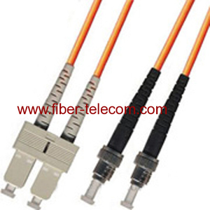 SC-ST Multi Mode Duplex Fiber Optic Patch Cord