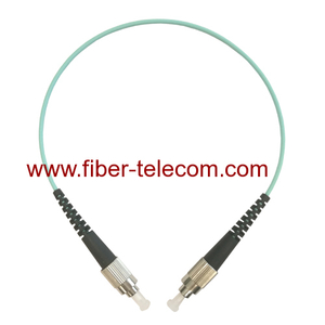 FC to FC OM3 Simplex Fiber Optical Patch Cable