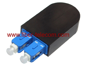 SC/PC SM Duplex Loop Back Fiber Optical adaptor
